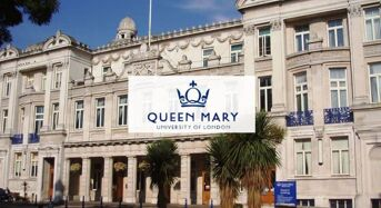 Norman Palmer Partial Scholarship at Queen Mary University of London, UK