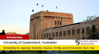 Japan Global Leader Scholarship in Australia, 2020