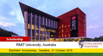 RMIT University Gavin Teague Memorial funding for International Students in Australia, 2019