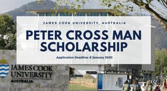 James Cook University Peter Crossman funding for Australian and New Zealand Citizen
