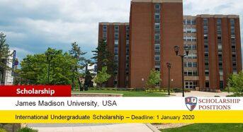 James Madison University #YouAreWelcomeHere International Scholarship in USA