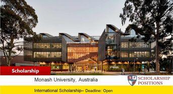 Master of Financial Mathematics Scholarship at Monash University in Australia 2019-2020