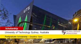 South East Asia Postgraduate Business Merit Scholarship in Australia 2019