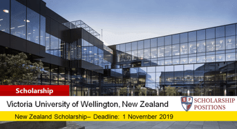 Victoria A K Elliot Memorial Scholarship in New Zealand, 2020