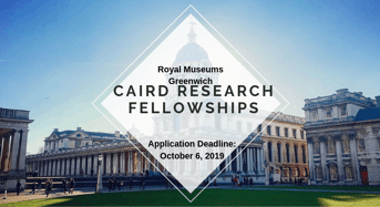 Royal Museums Greenwich Caird Research Fellowships for International Applicants in UK