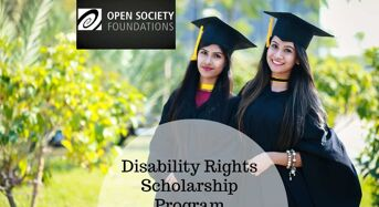 Disability Rights program at Open Society Institute in USA, 2020