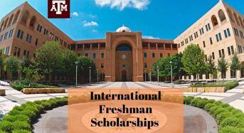 International Freshman Scholarships at Texas A&M University in USA