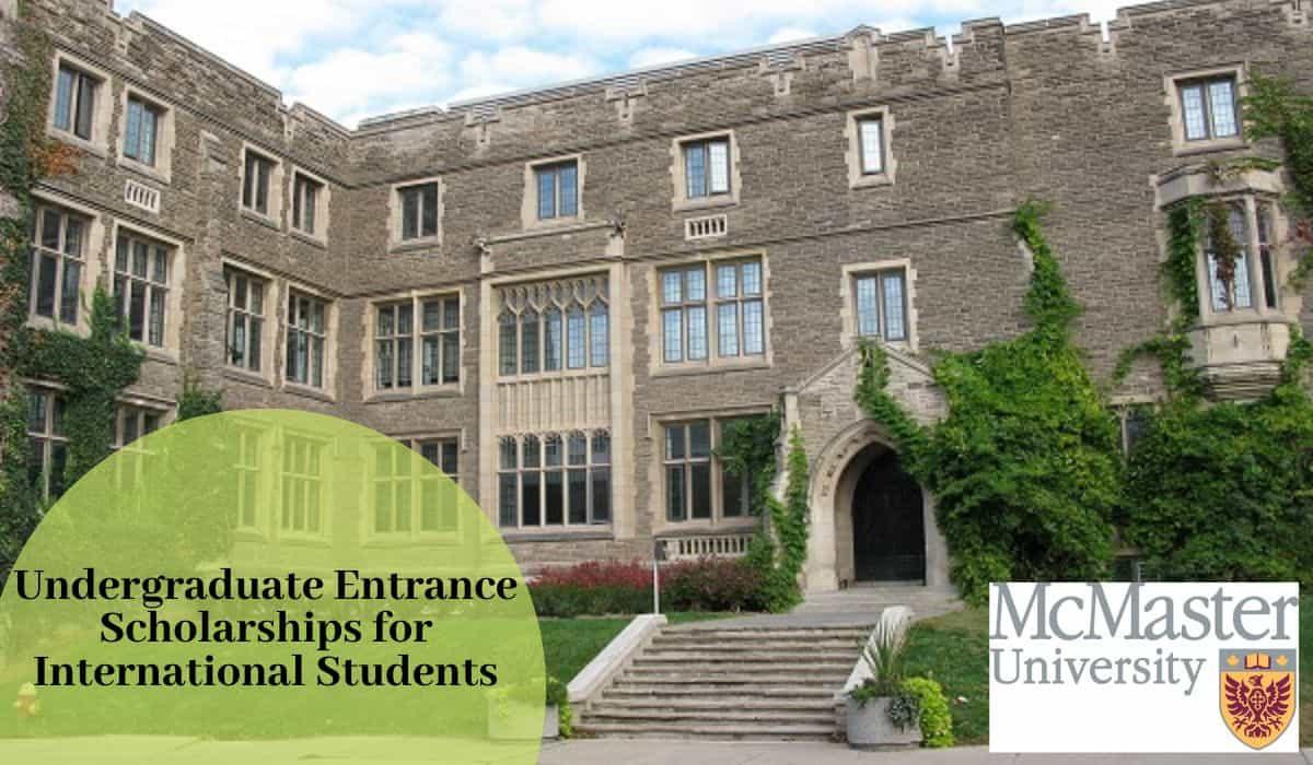 Undergraduate Entrance Scholarships for International ...