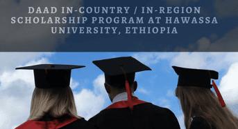 DAAD In-Country/ In-Regionprogram at Hawassa University, Ethiopia