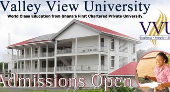 Valley View University international awards in Ghana
