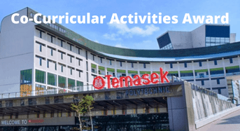 Co-CurricularActivities Award at Temasek Polytechnic, Singapore