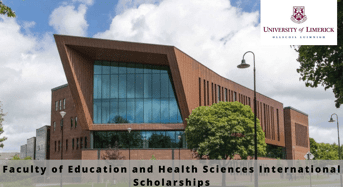 Limerick Faculty of Education and Health Science international awards, Ireland