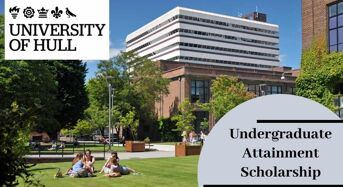 Undergraduate Attainment Scholarship at University of Hull in UK, 2020