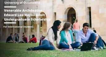 Venerable Archdeacon Edward Leo Hayes Adult Undergraduate Scholarship, Australia