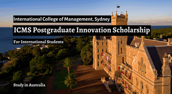 ICMS Postgraduate Innovation funding for International Students in Australia