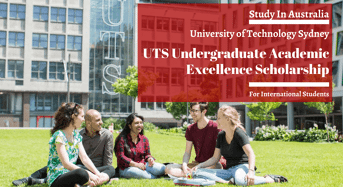 UTS Undergraduate Academic Excellence funding for International Student in Australia