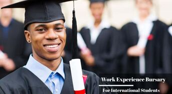 Work Experience Bursary for International Students at University of Birmingham, UK