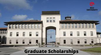 graduate funding opportunities at Koc University, Turkey