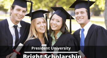 Bright Scholarship at President University, Indonesia