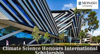 Climate Science Honours International Scholarship at Monash University in Australia, 2020