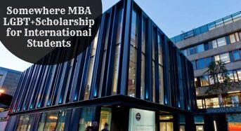Edinburgh Business School Somewhere MBA LGBT+funding for International Students in UK, 2020