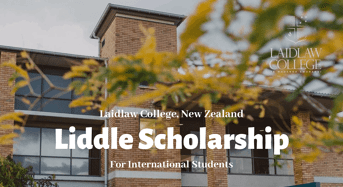 Laidlaw College Liddle funding for International Students in New Zealand