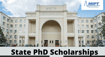 State PhD Positionsat Moscow Institute of Physics and Technology, Russia