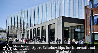 Manchester Metropolitan University Sport Scholarships for International Students in UK, 2020