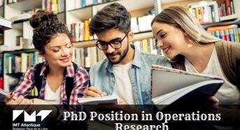 PhD Position in Operations Research at IMT Atlantique in France, 2020