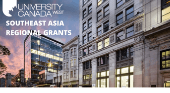 Southeast Asia Regional Grants at University Canada West, 2020