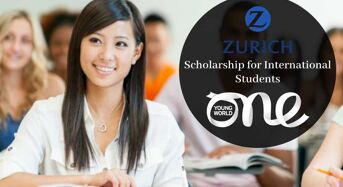 Zurich Insurance-OneYoung World funding for International Students in Germany, 2020