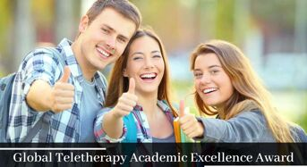 Global Teletherapy Academic Excellence Award in USA, 2020
