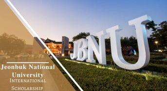 Jeonbuk National University International Scholarship in South Korea