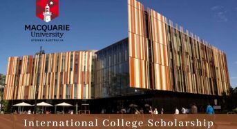 Macquarie University International College Scholarship in Australia, 2020