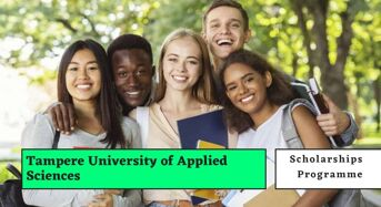 Tampere University of Applied Sciences Scholarships for International Students in Finland