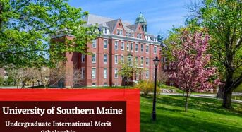 Undergraduate International Merit Scholarship at University of Southern Maine, US