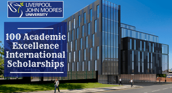 100 Academic Excellence international awards at Liverpool John Moores University in UK, 2020