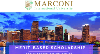 Marconi International University Merit-BasedScholarship in the USA