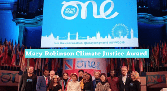 Mary Robinson Climate Justice Award for Worldwide Young Leaders, 2020