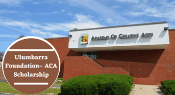 Ulumbarra Foundation– ACA Scholarship at Academy of Creative Arts, 2020