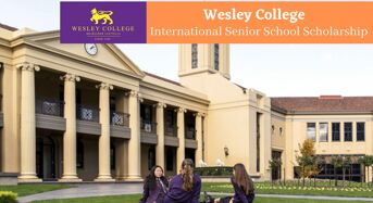 Wesley College International Senior School Scholarship in Australia
