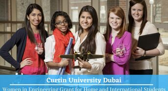 Women in Engineering Grant for International Students at Curtin University Dubai, United Arab Emirates
