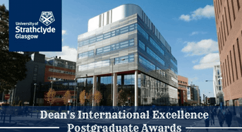 50 Strathclyde Dean's International Excellence Postgraduate Awards in Humanities and Social Sciences, UK