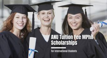 ANU Tuition Fee MPhil Scholarships for International Students in Australia, 2020
