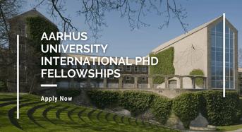 Aarhus University International PhD Fellowships in Denmark