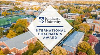 Elmhurst University International Chairman's Award in USA