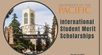 International Student merit awards at University of the Pacific in USA, 2020