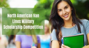 North American Van Lines Military Scholarship Competition in USA, 2020