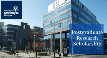 Postgraduate Research funding for UK and EU Students at University of Strathclyde in UK, 2020