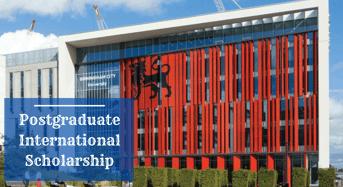 Postgraduate international awards at Birmingham City University in UK, 2020